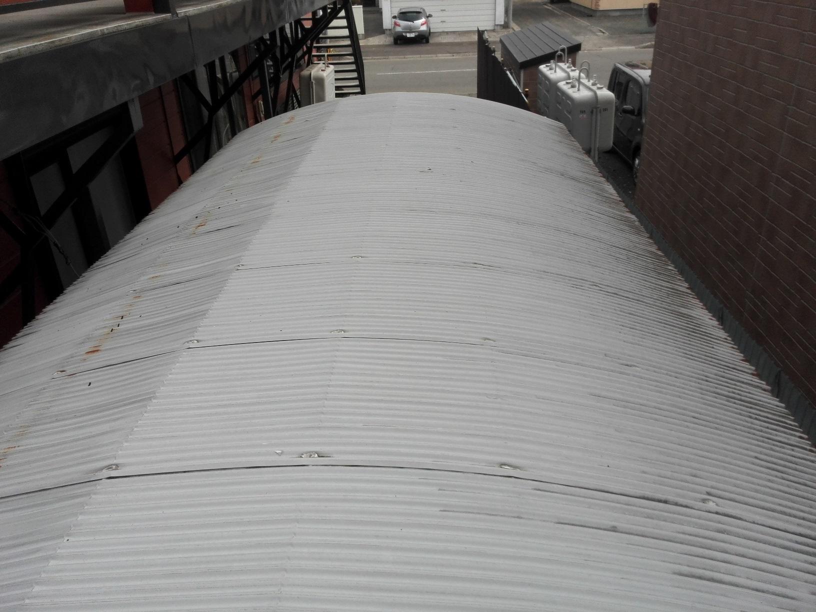 車庫塗装前1