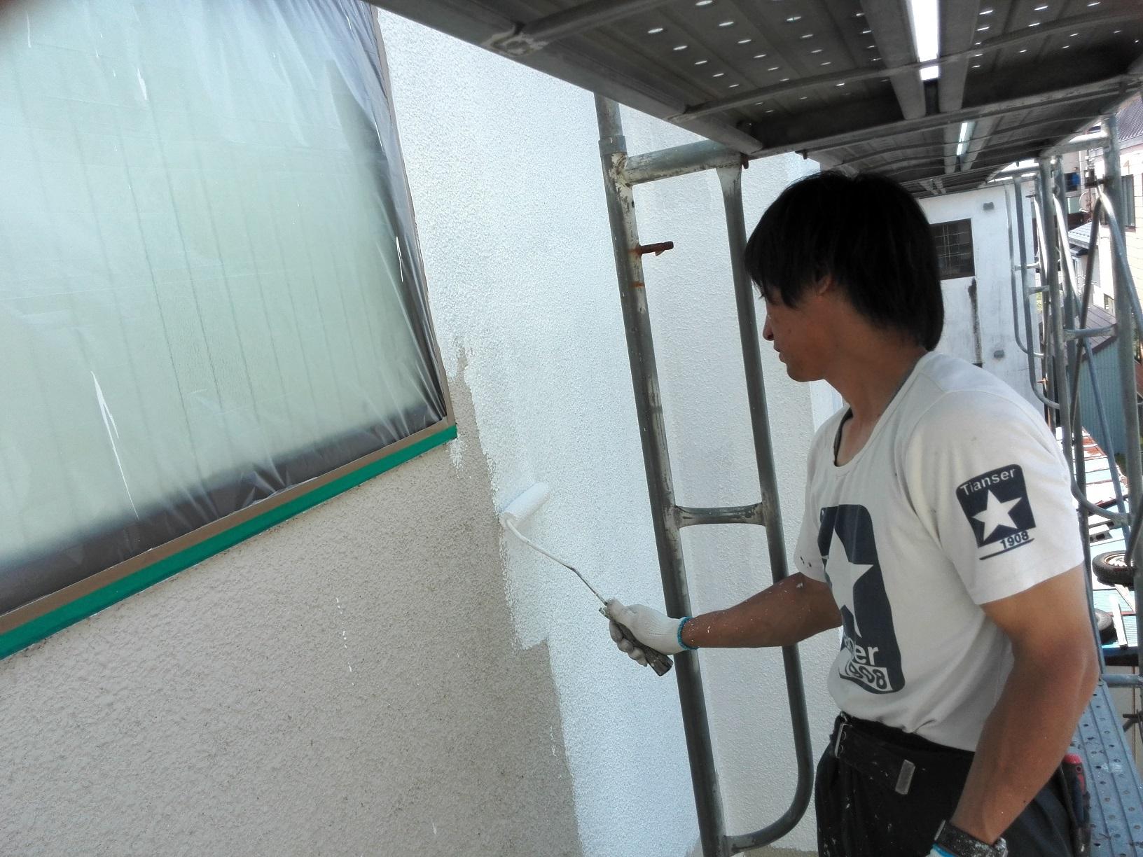 外壁 下塗り2