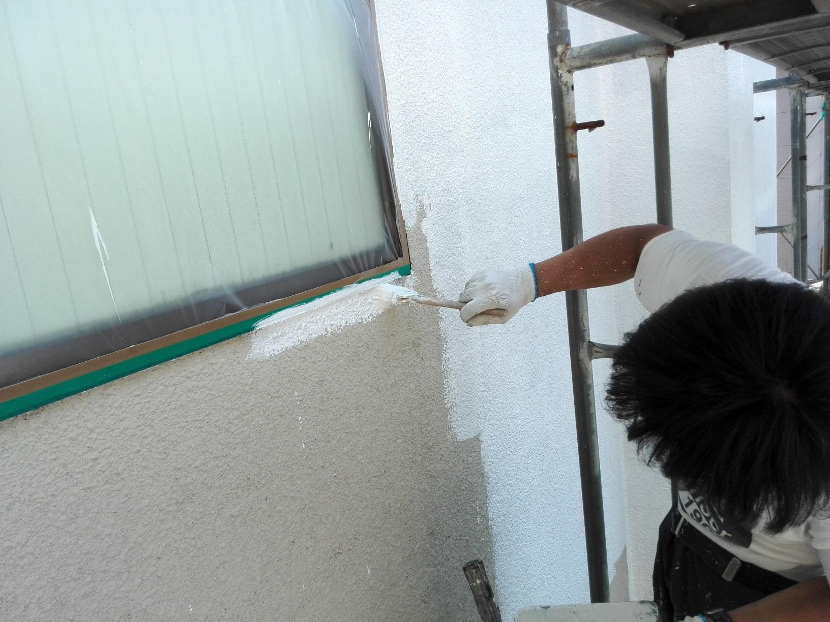 外壁 下塗り3