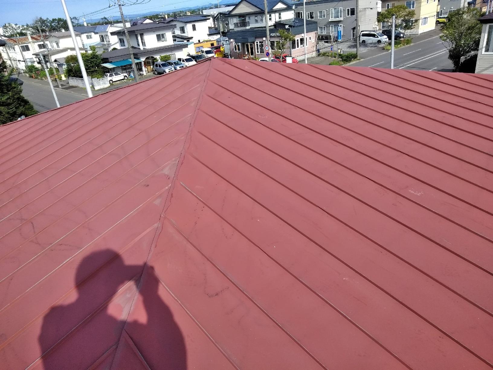 屋根ケレン1