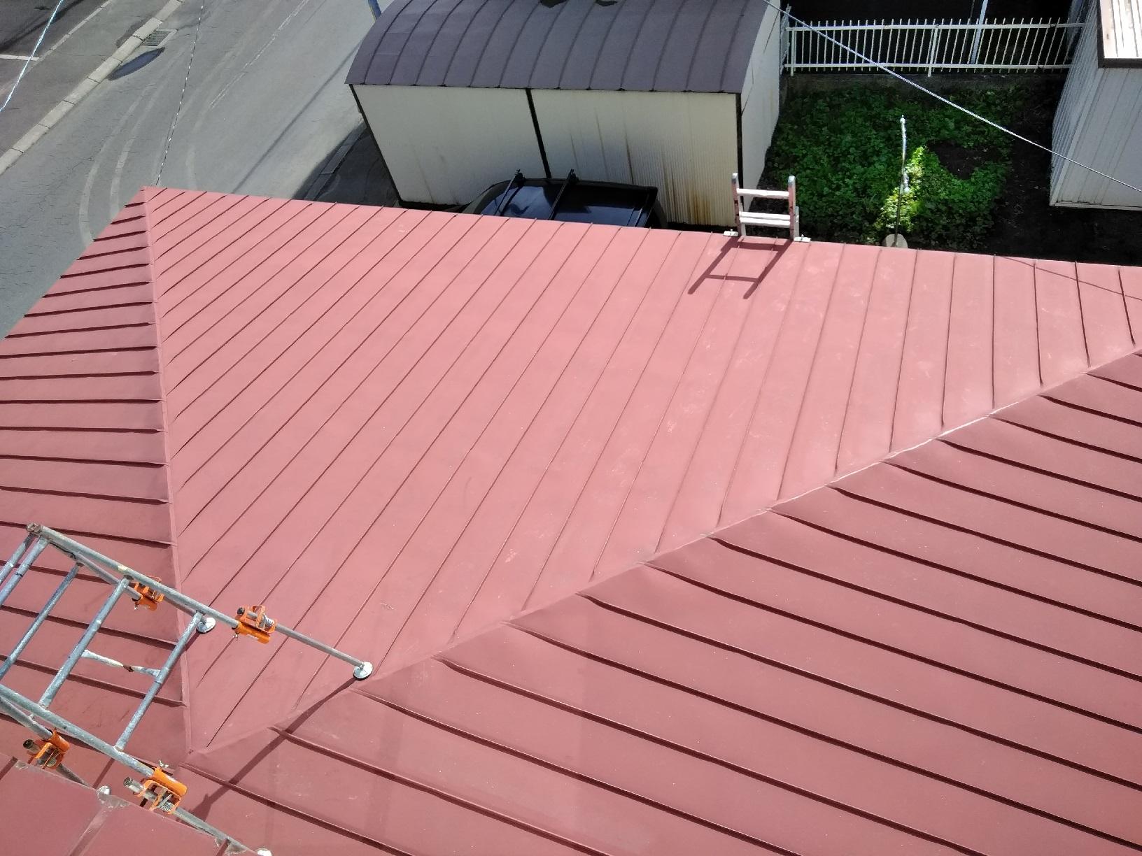 屋根ケレン2