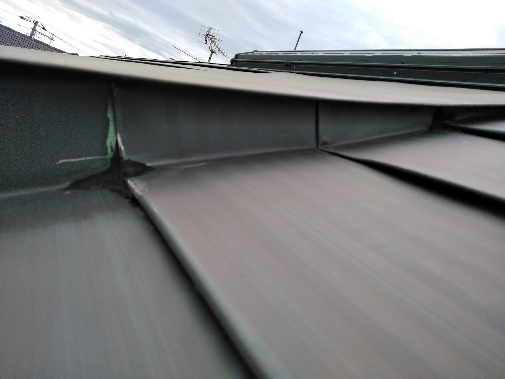 屋根 ケレン 天窓3