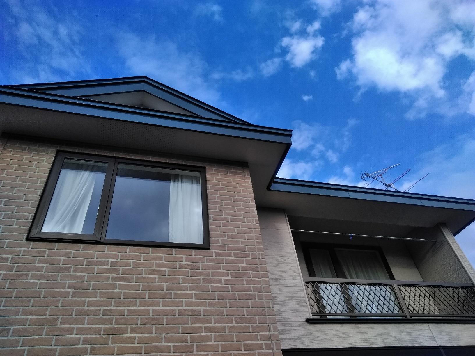 屋根・破風 上塗り3