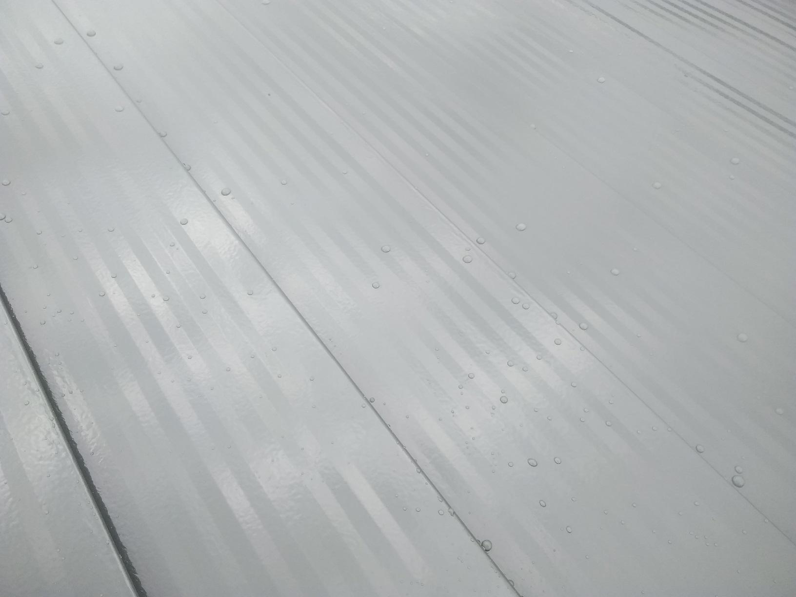 屋根・破風 上塗り4