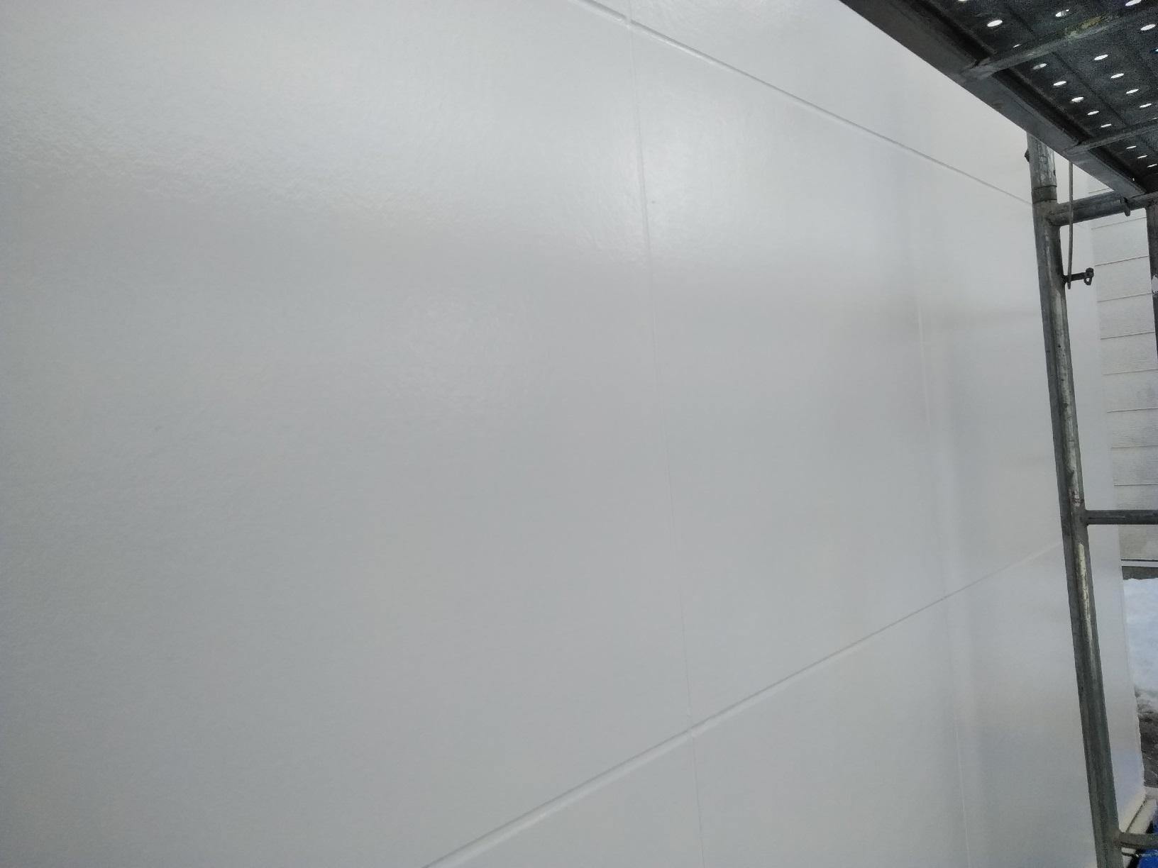 昭和店舗 外壁 上塗4