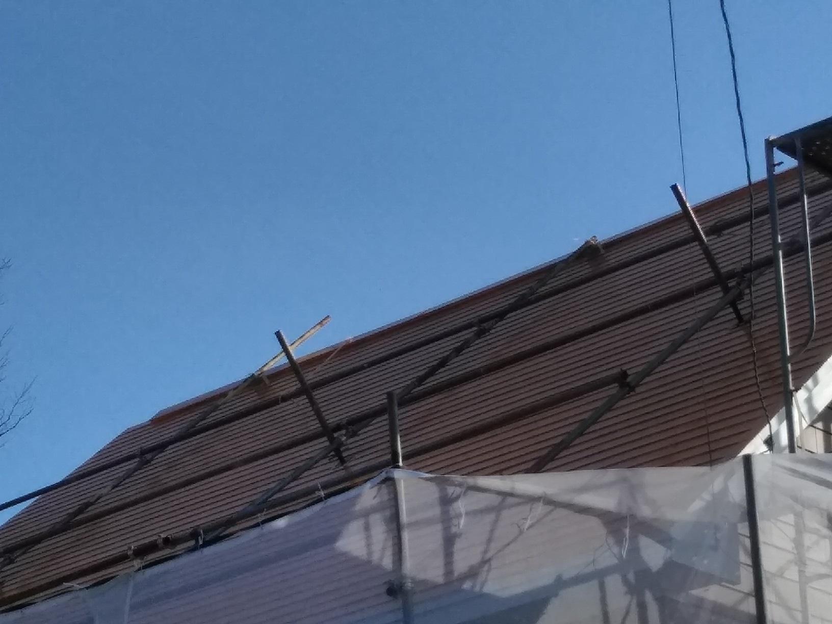 昭和M様貸家 屋根 上塗4