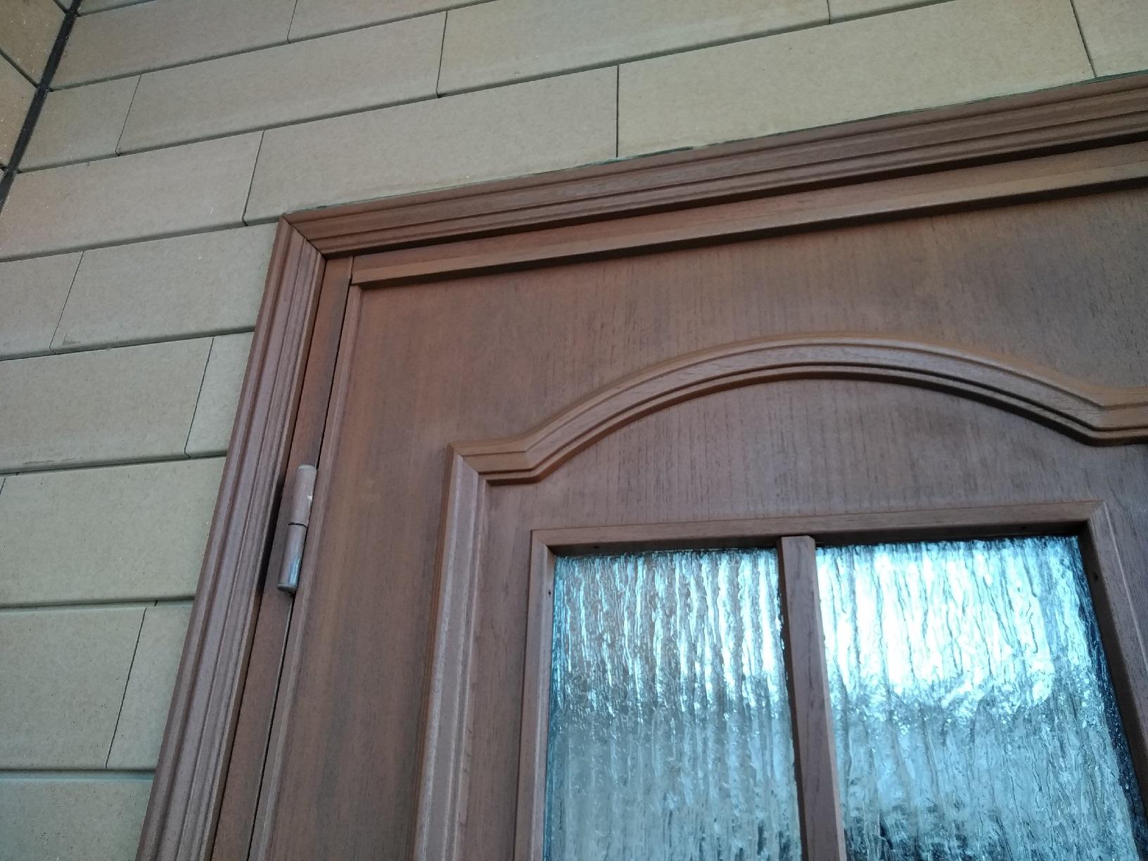 昭和M様貸家 玄関ドア 上塗6
