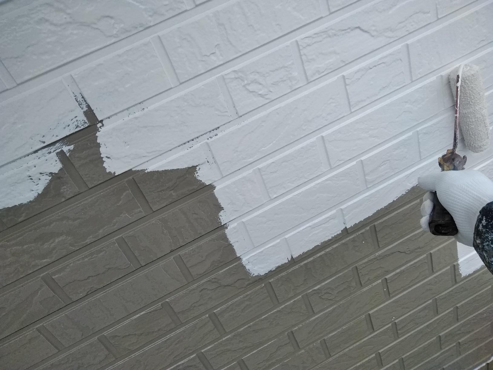 春日町Y様邸 外壁 上塗2