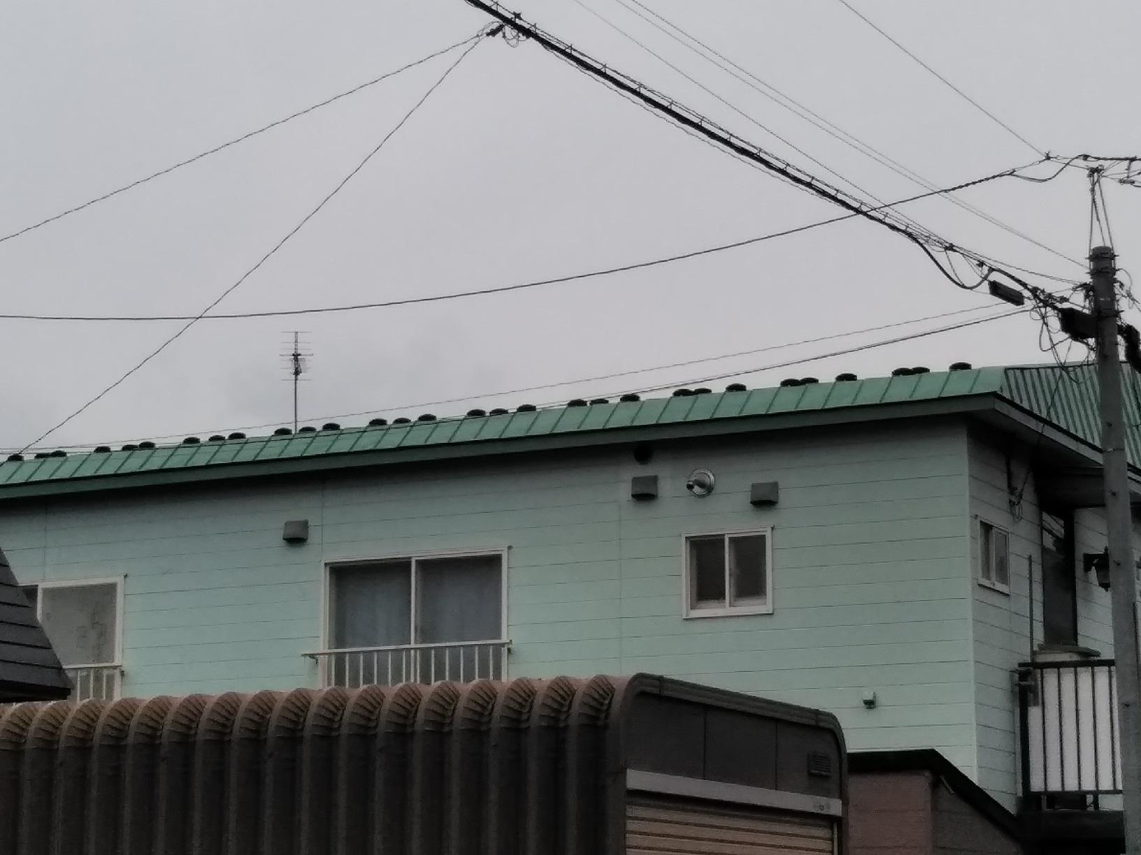 鳥取ハニウハイツ 雪留取付3