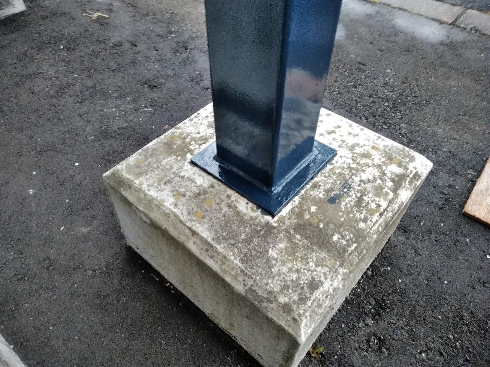 昭和トリビュート 鉄骨階段 上塗16