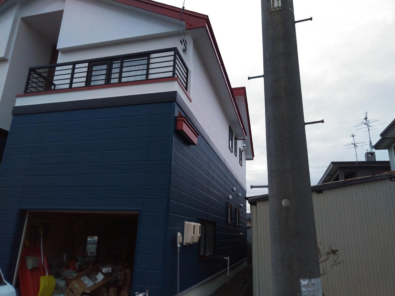 北見団地M様邸 施工完了 外観3