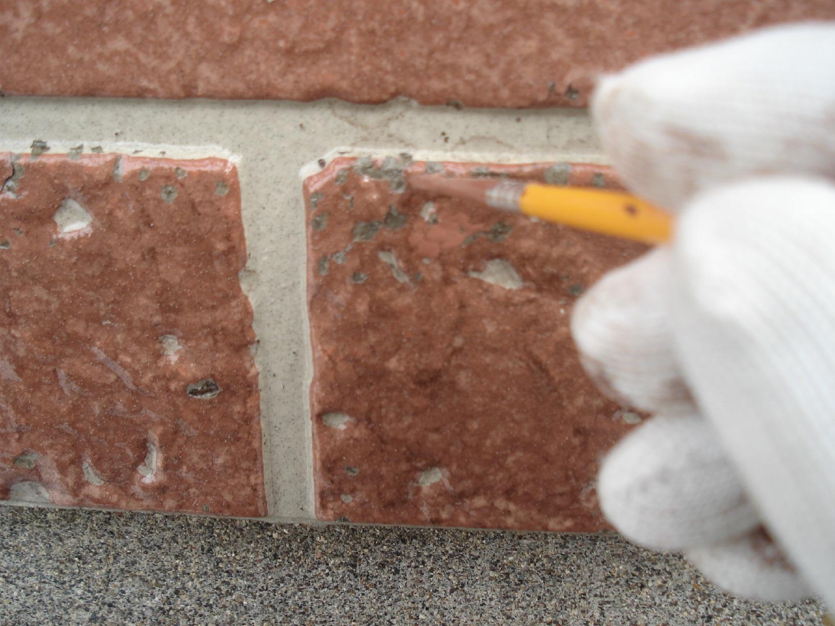 昭和メゾンドショード 外壁劣化部 補修1