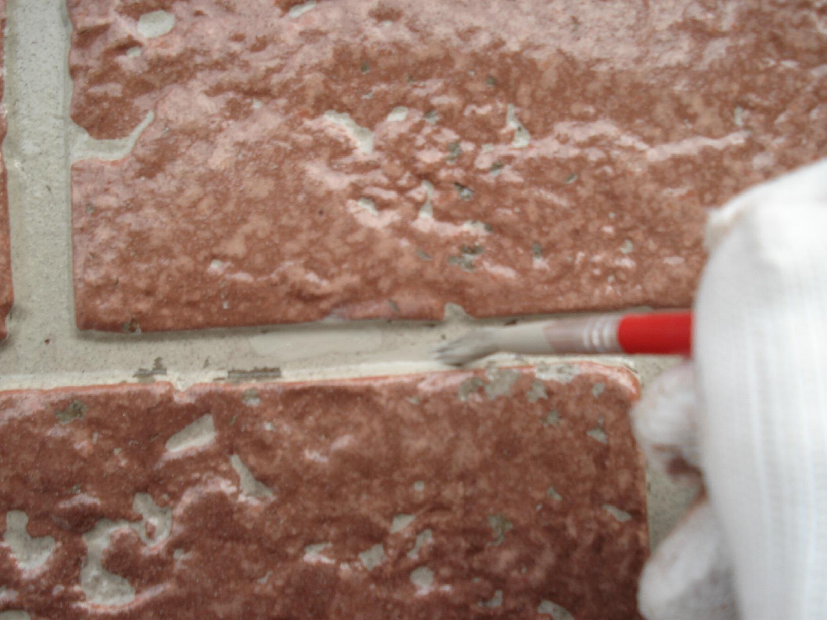 昭和メゾンドショード 外壁劣化部 補修2