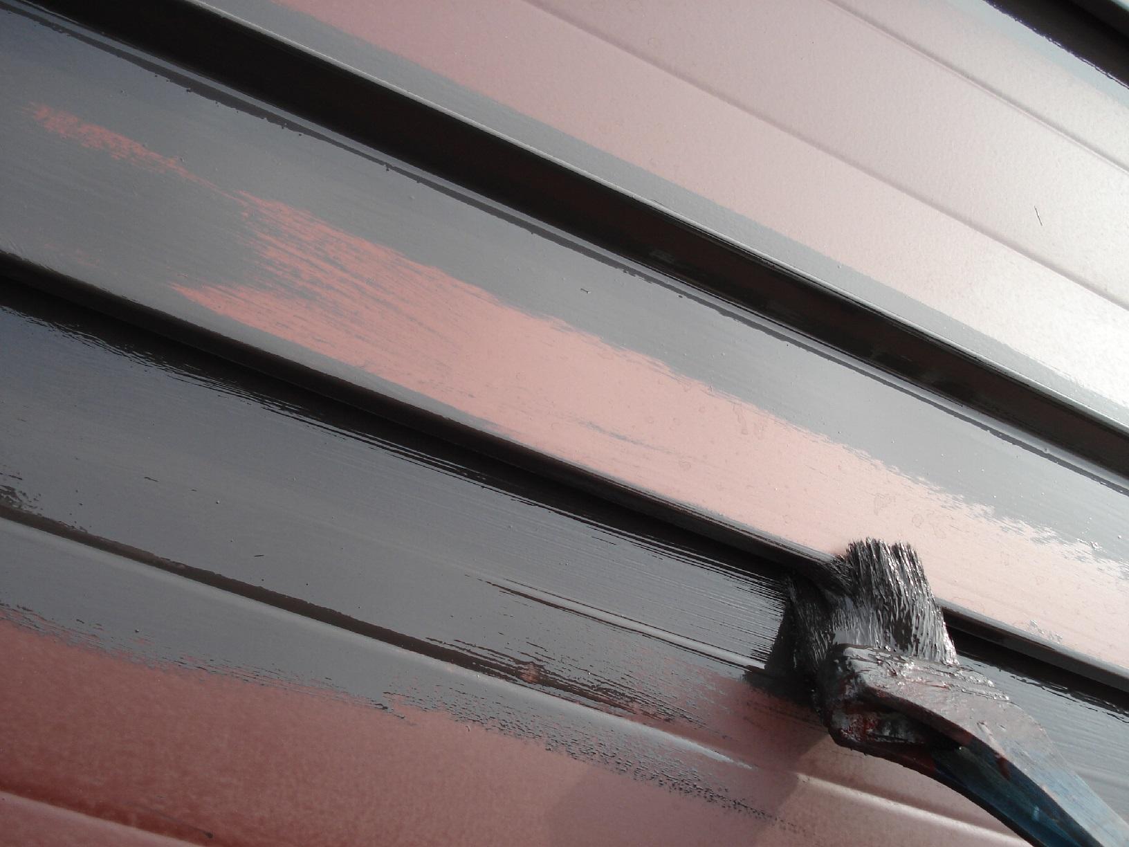 昭和メゾンドショード 屋根 上塗5