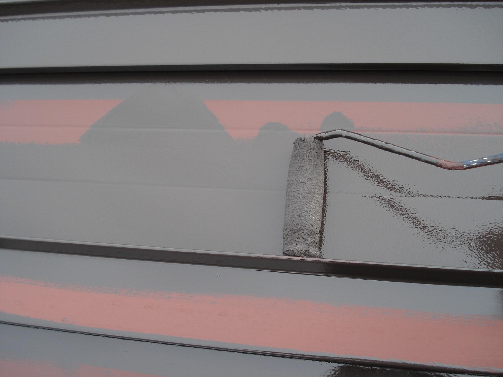 昭和メゾンドショード 屋根 上塗9