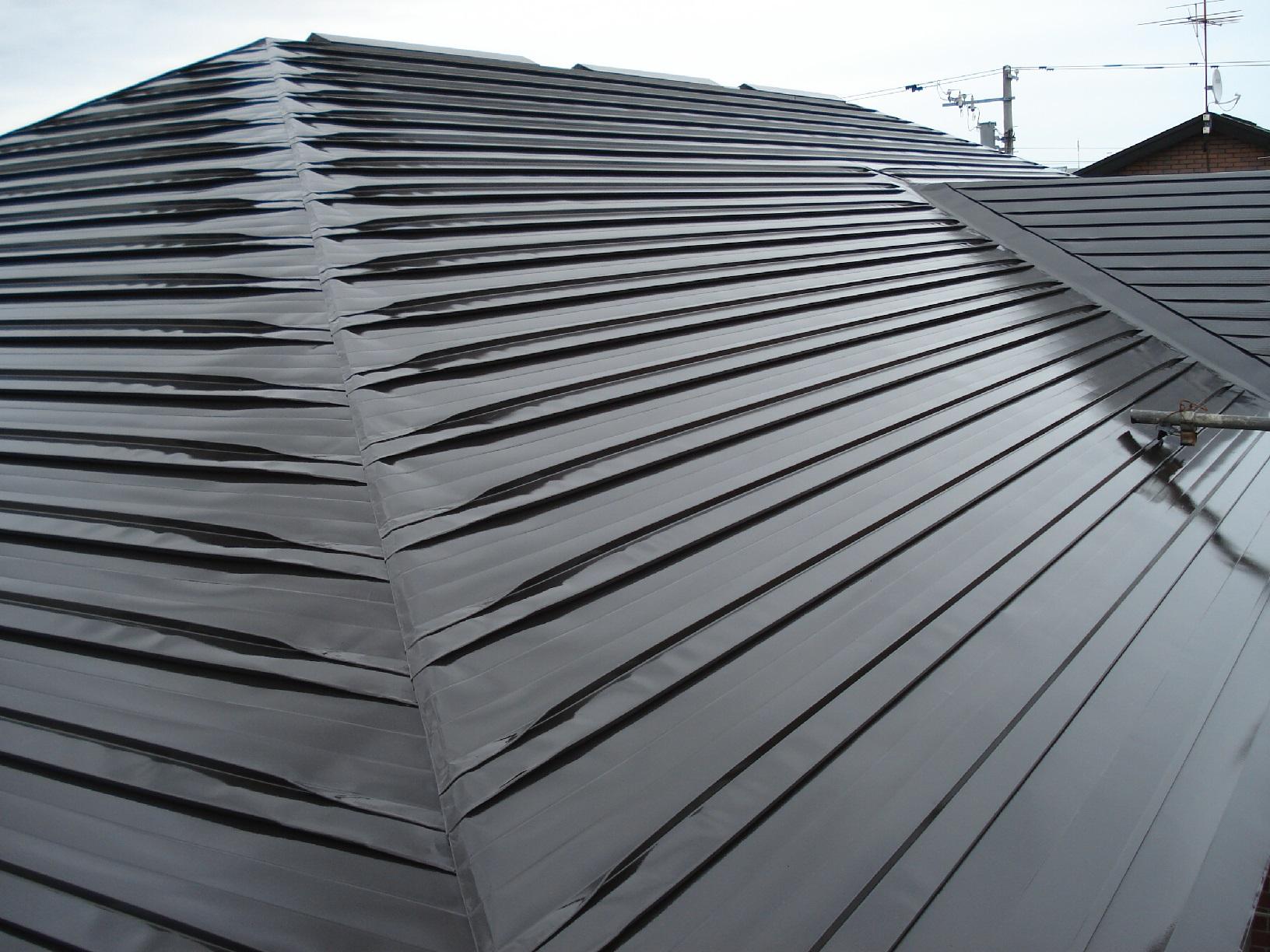 昭和メゾンドショード 屋根 上塗11