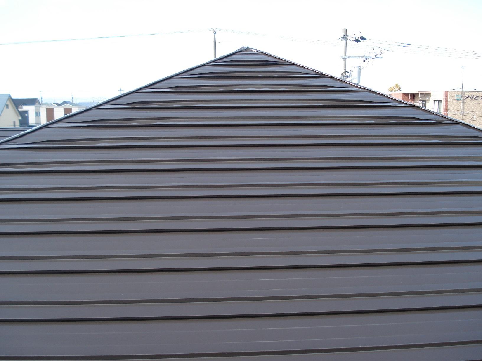 昭和メゾンドショード 屋根 上塗15