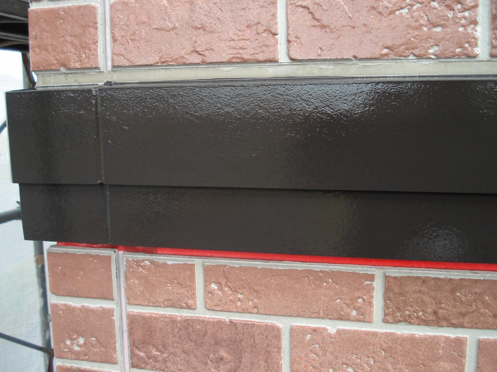 昭和メゾンドショード 外壁帯 上塗5