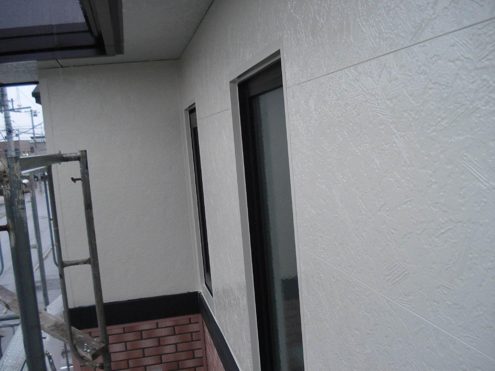 文苑N様邸 外壁 上塗3