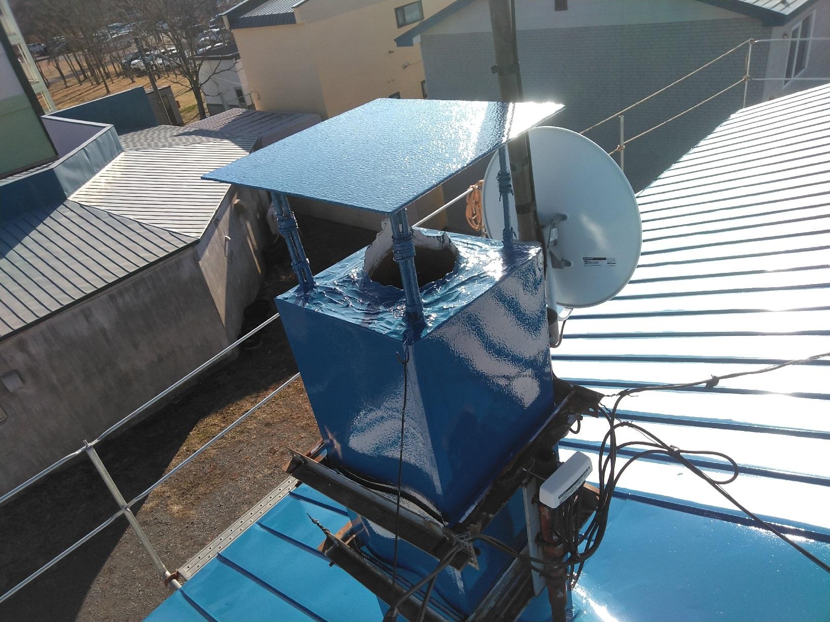 鳥取H様邸 屋根 上塗16