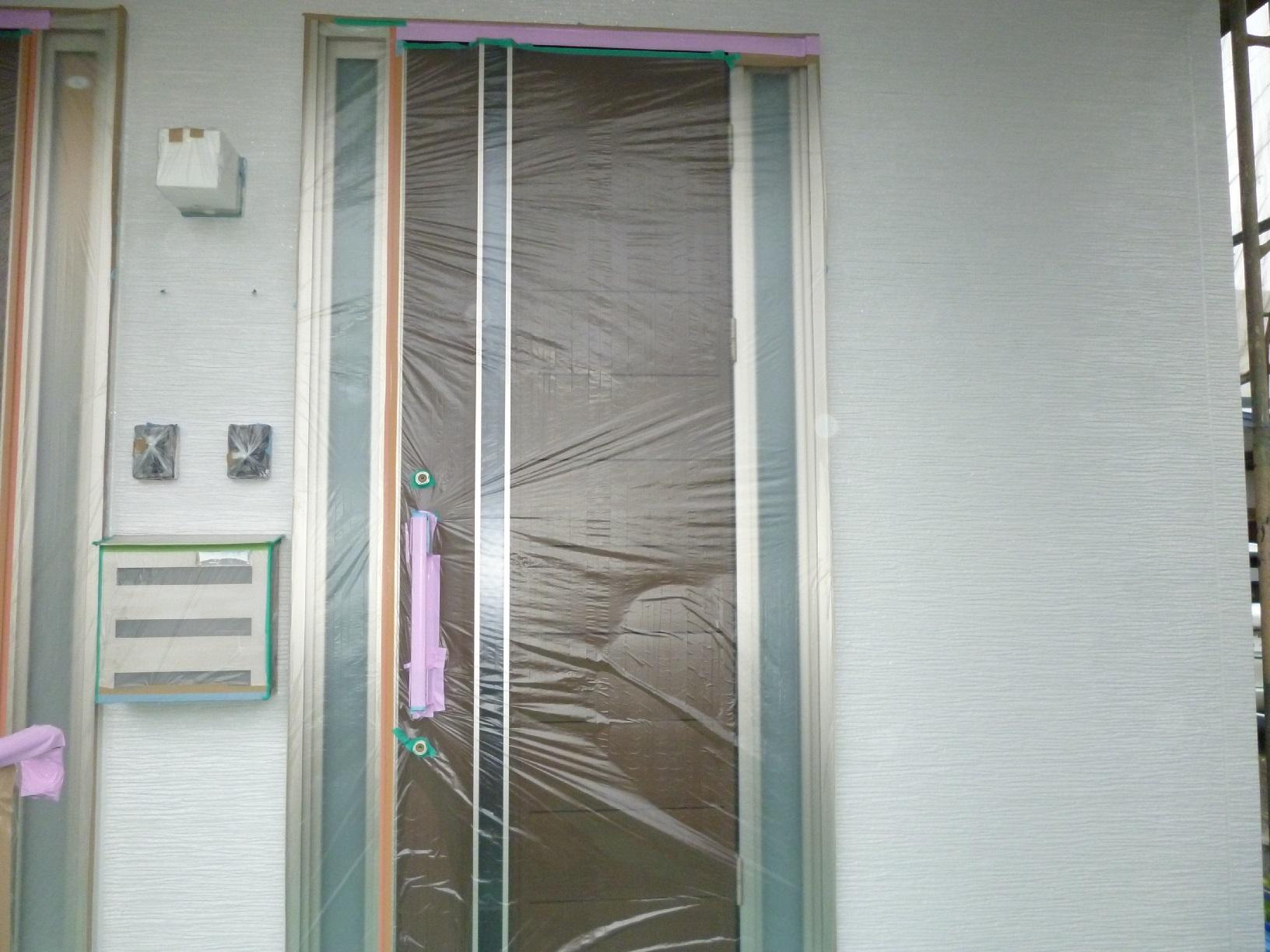入舟H様邸 外壁 中塗A10