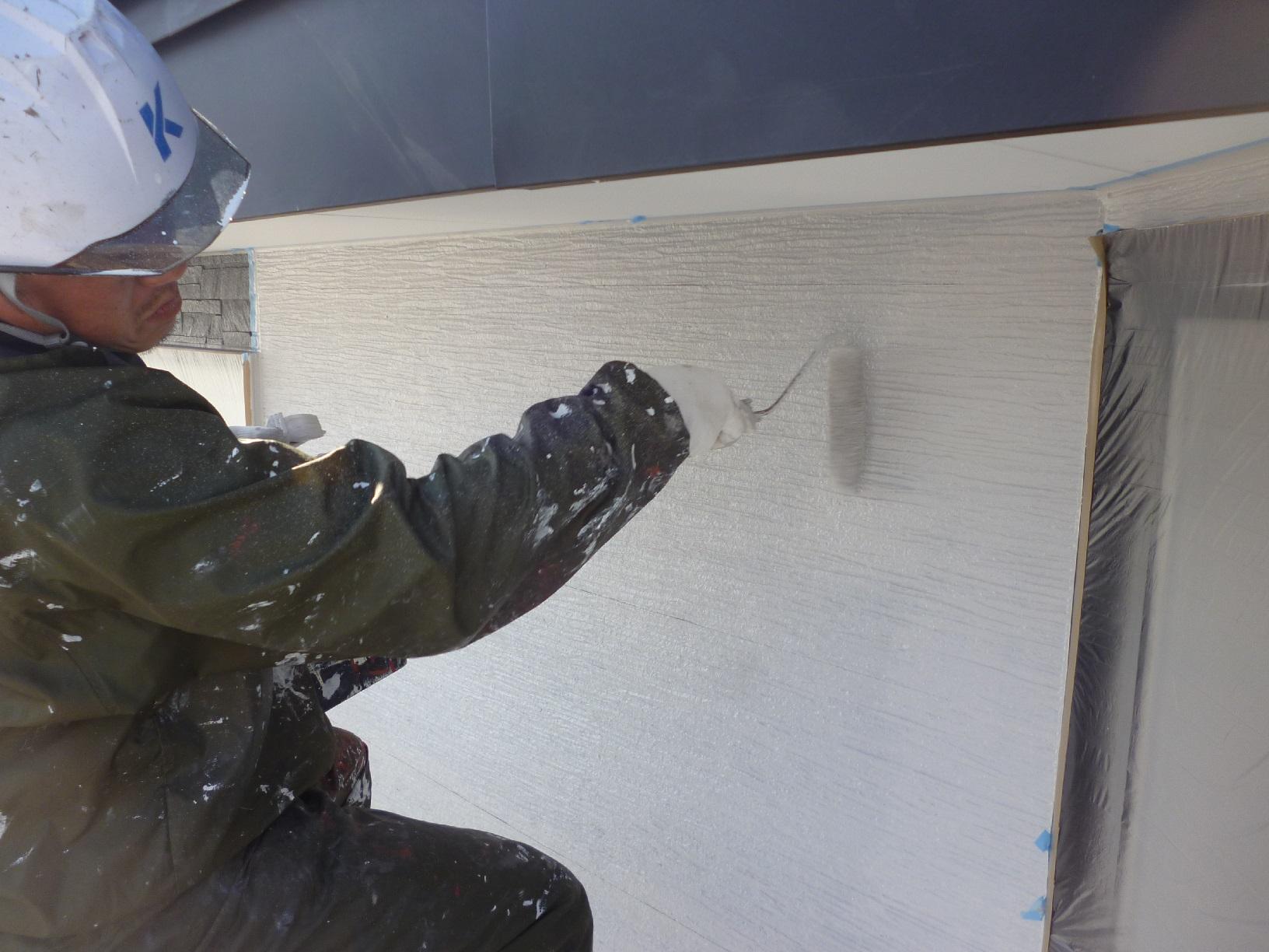 入舟H様邸 外壁 上塗A6