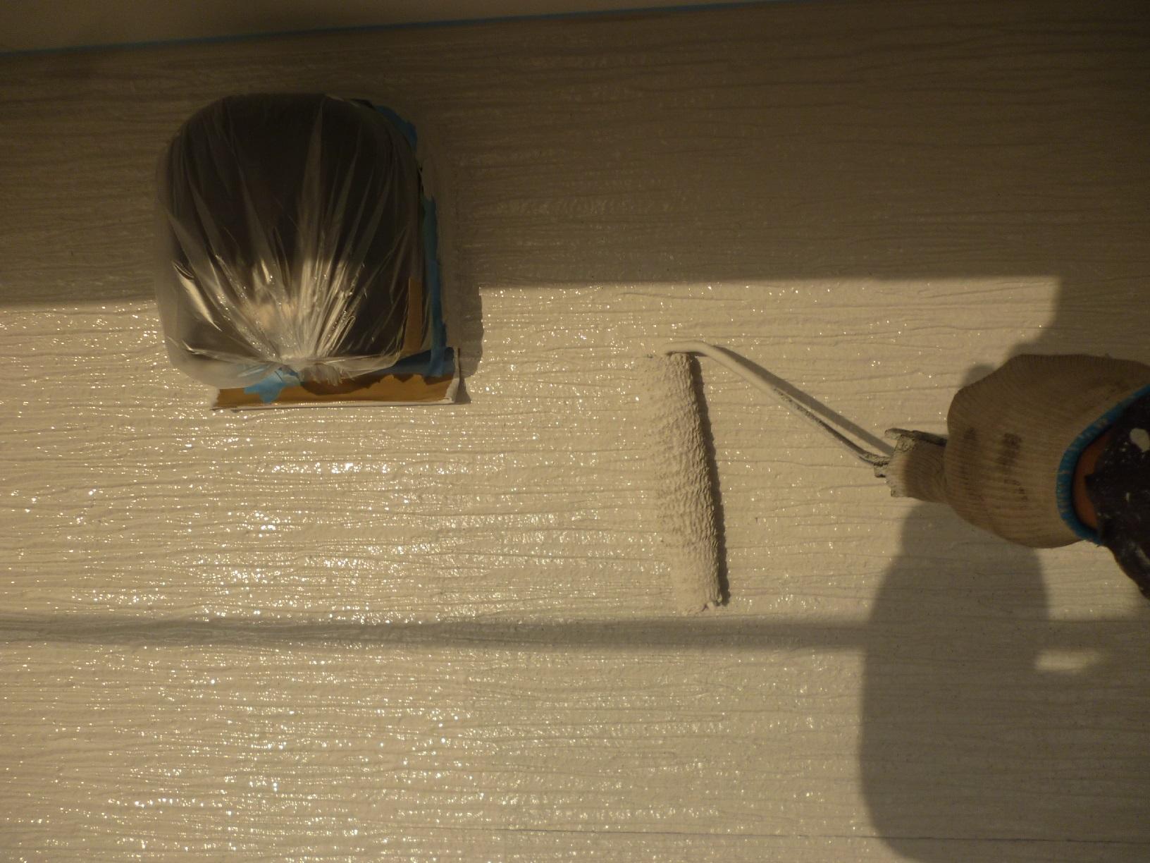 入舟H様邸 外壁 上塗A12