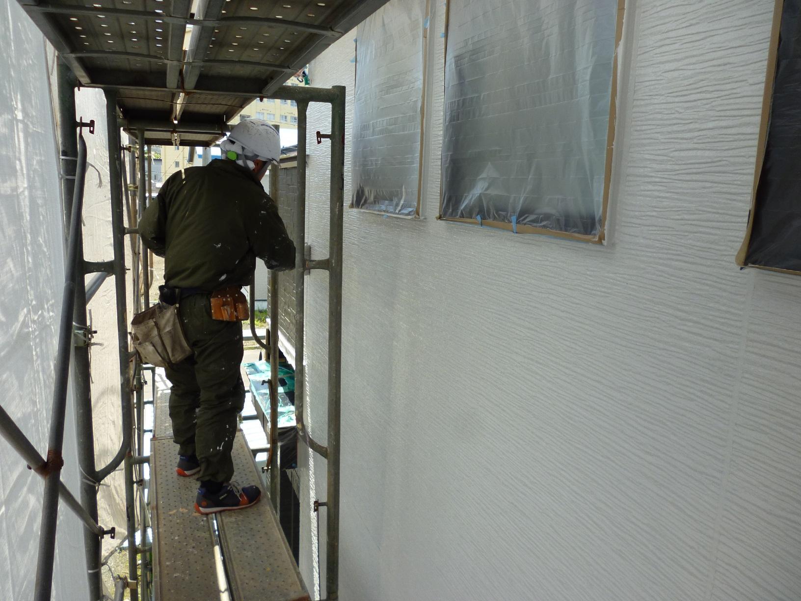 入舟H様邸 外壁 上塗A13