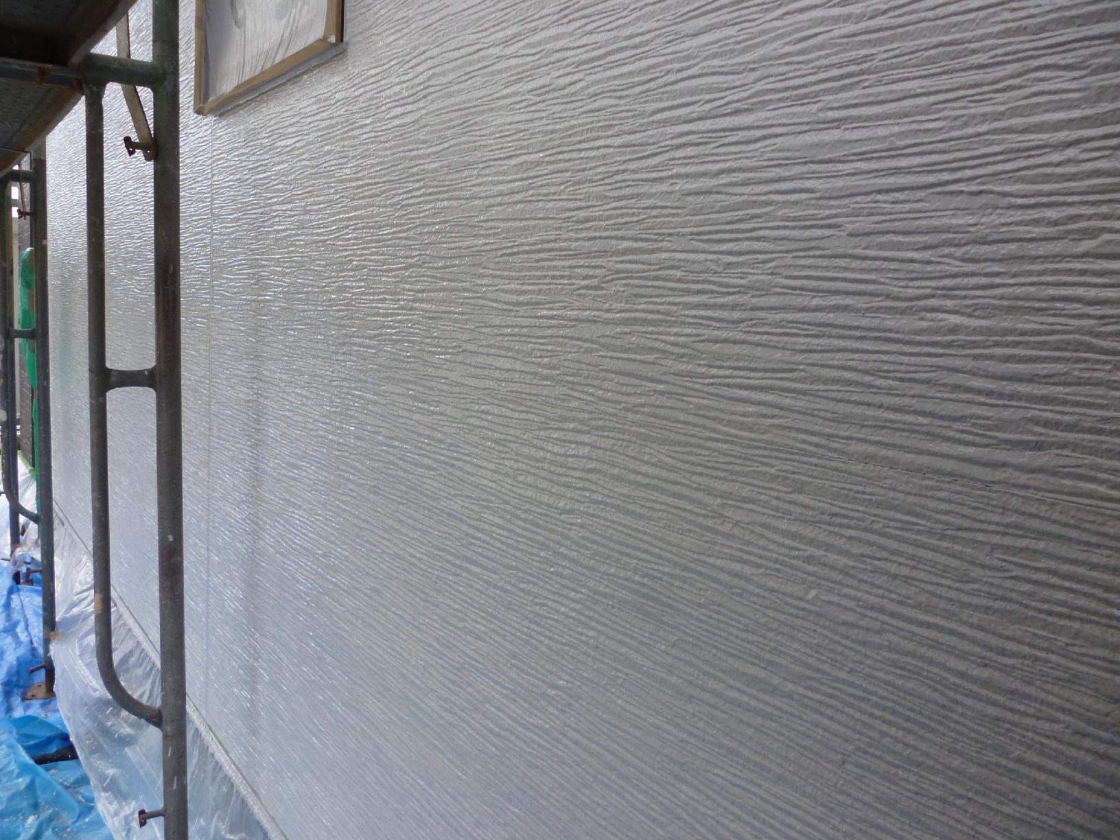 入舟H様邸 外壁 上塗A14