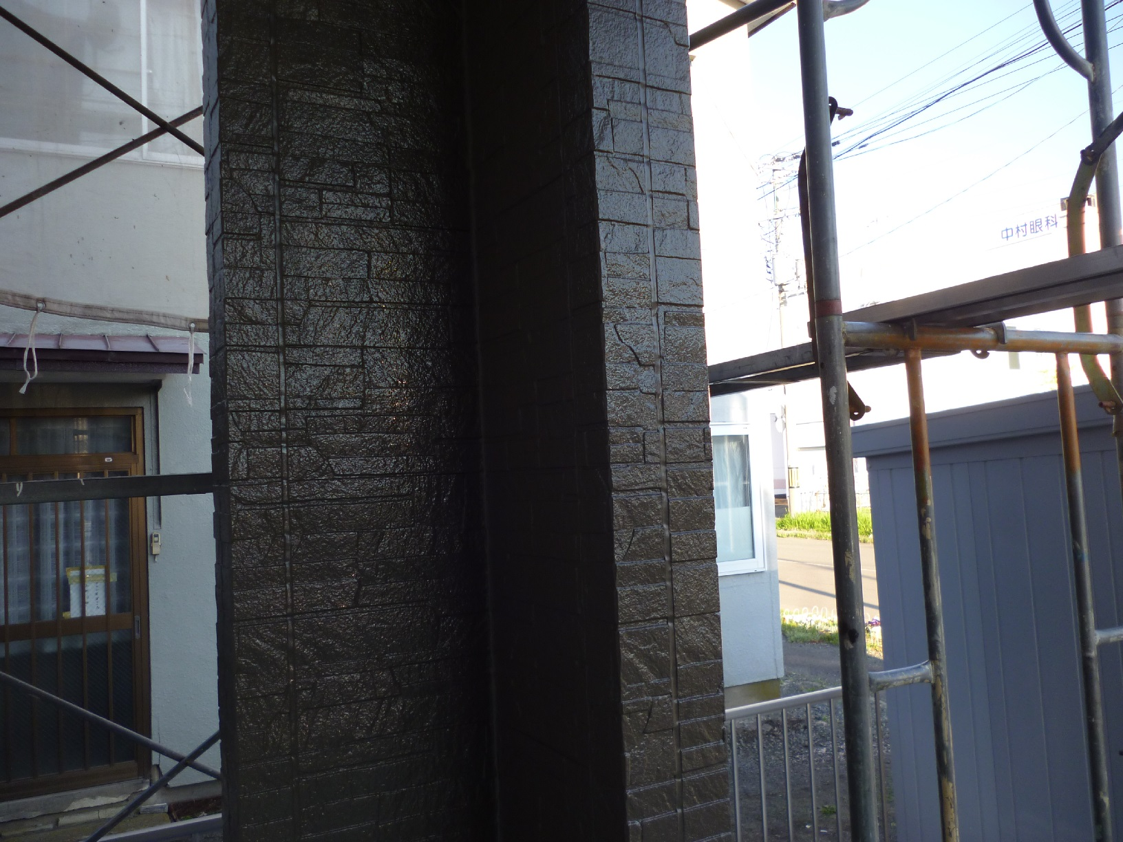 入舟H様邸 外壁 中塗B7