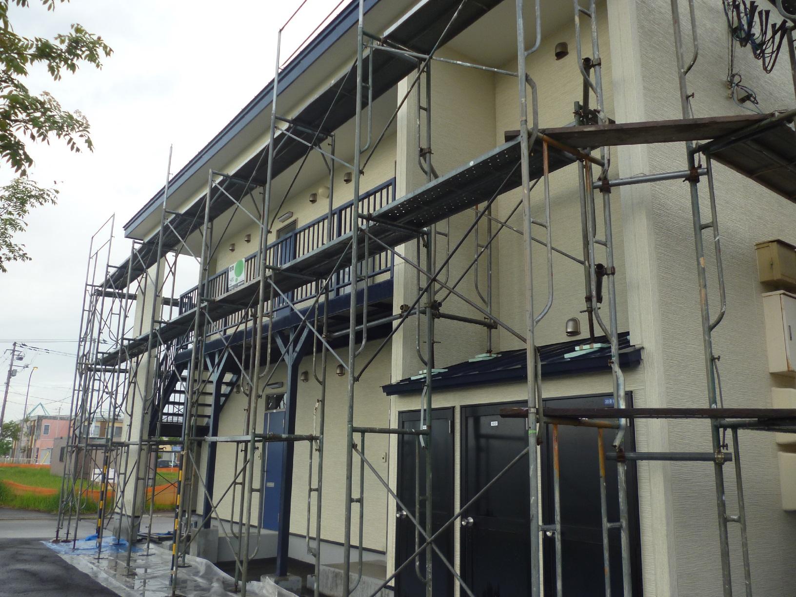 昭和トリビュート 足場組立8