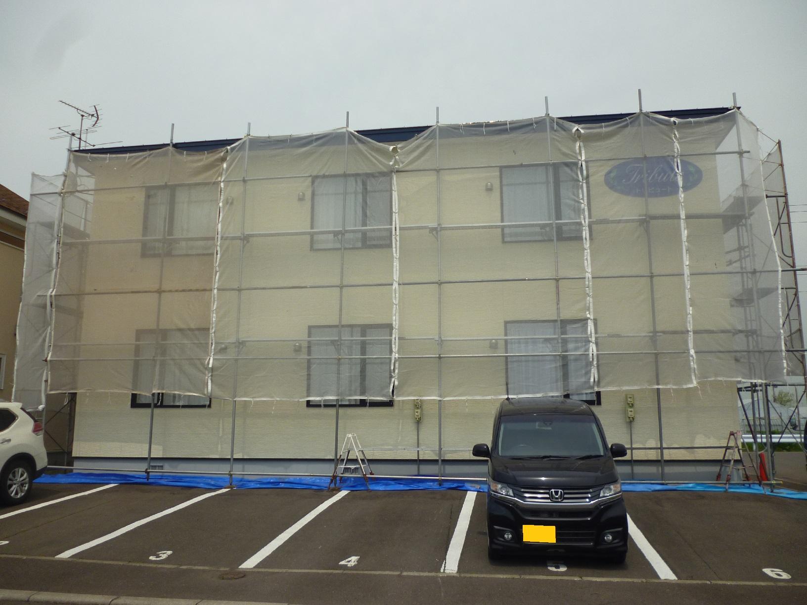 昭和トリビュート 足場組立12
