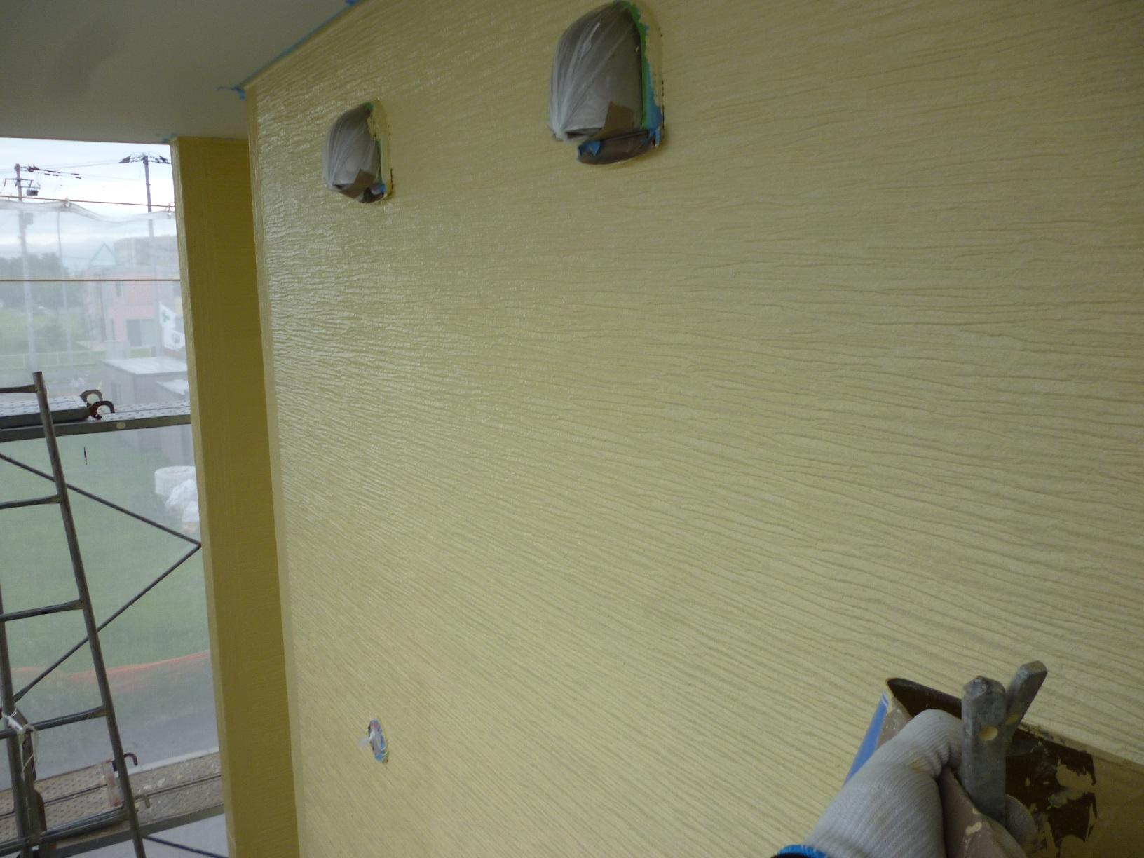 昭和トリビュート 外壁 中塗11