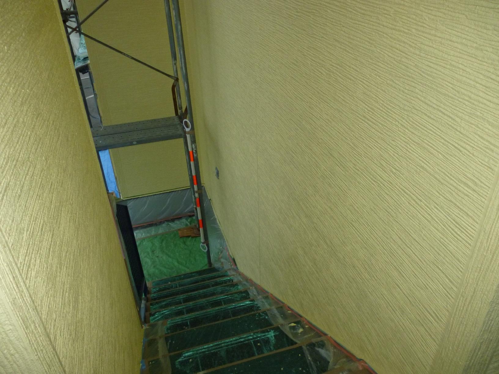 昭和トリビュート 外壁 中塗14