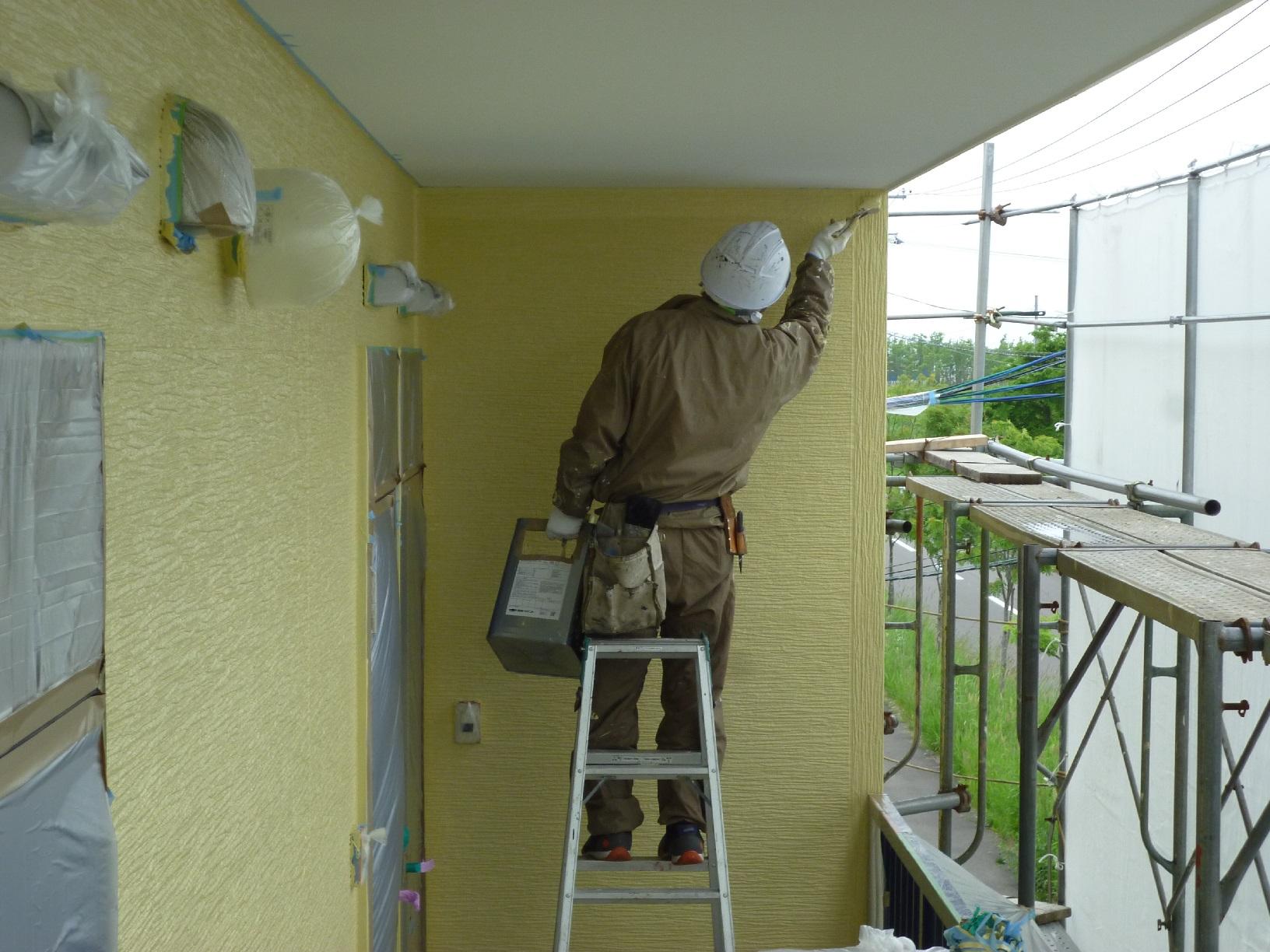 昭和トリビュート 外壁 上塗4