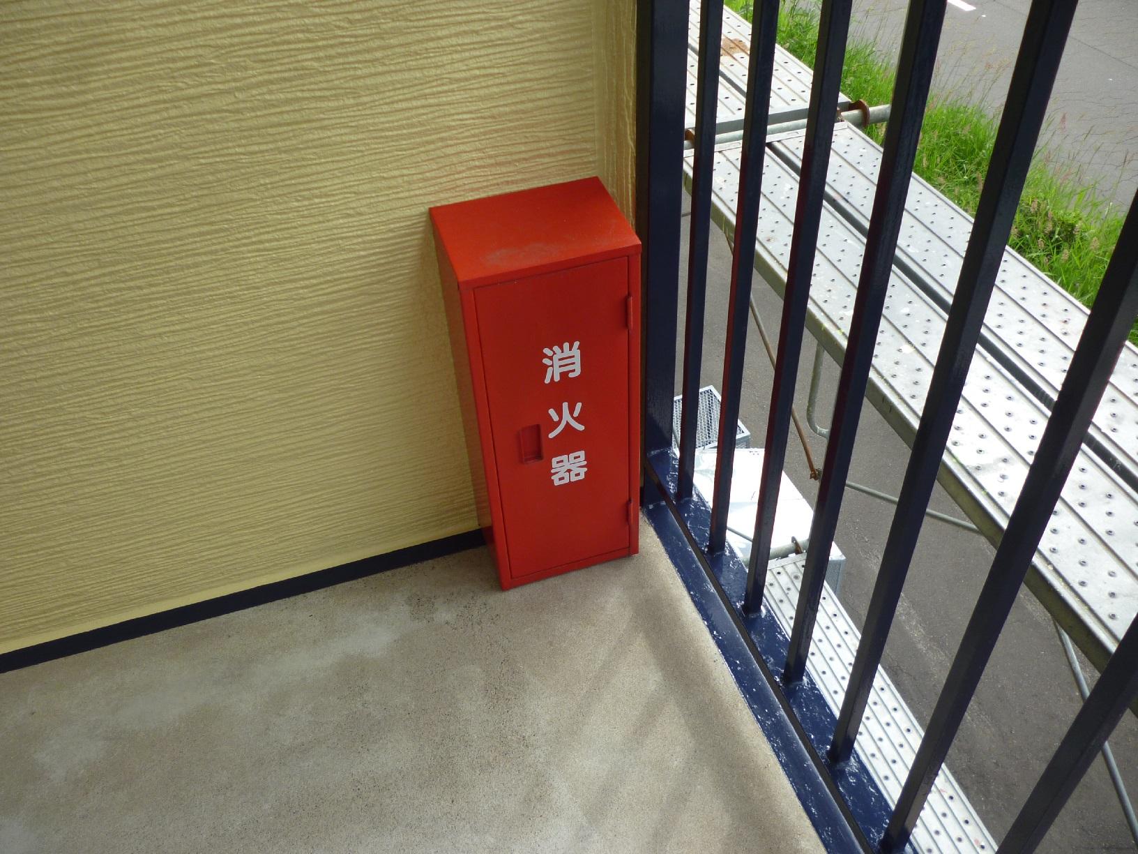 昭和トリビュート 鉄骨階段 再塗装6