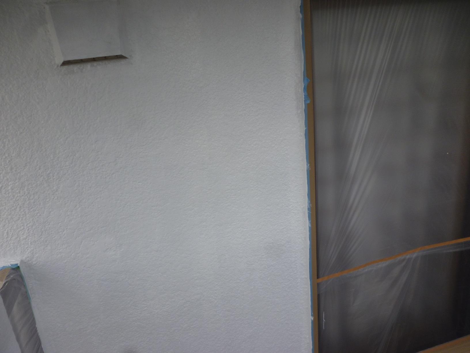 河畔S様邸 外壁 下塗4