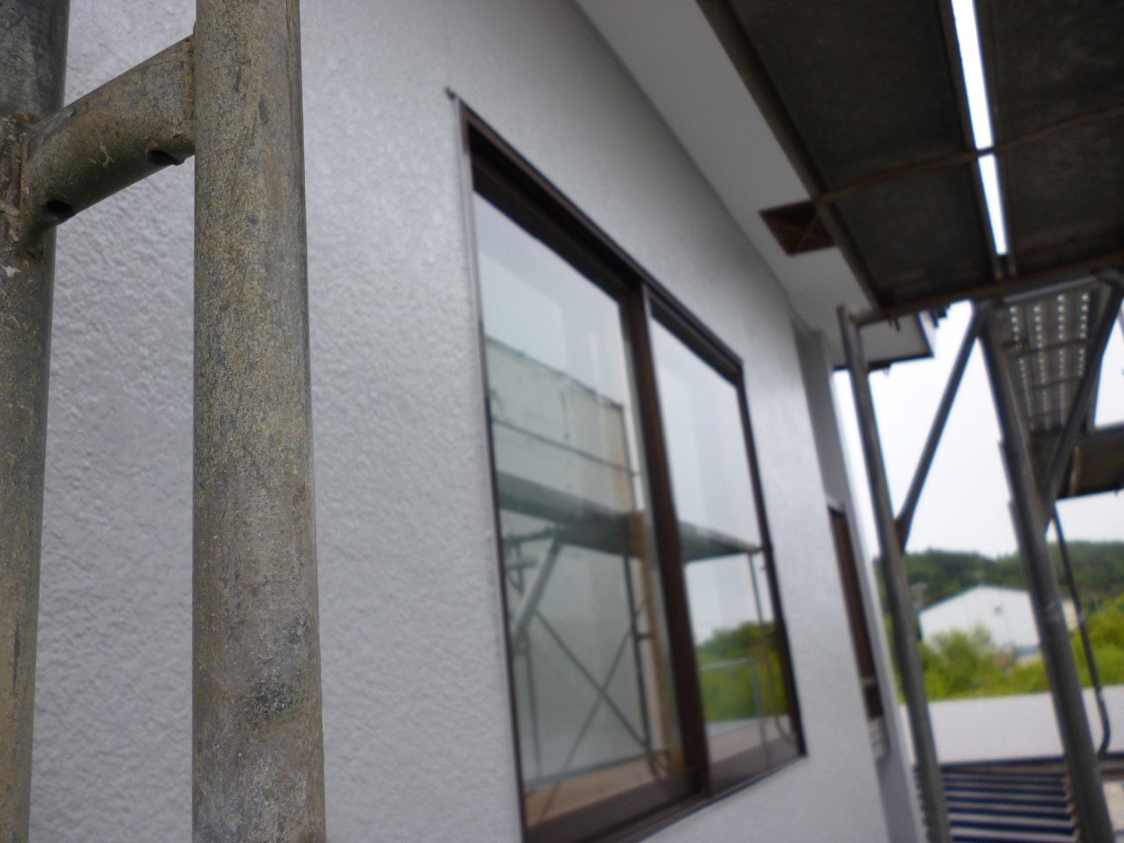 河畔S様邸 外壁 上塗13