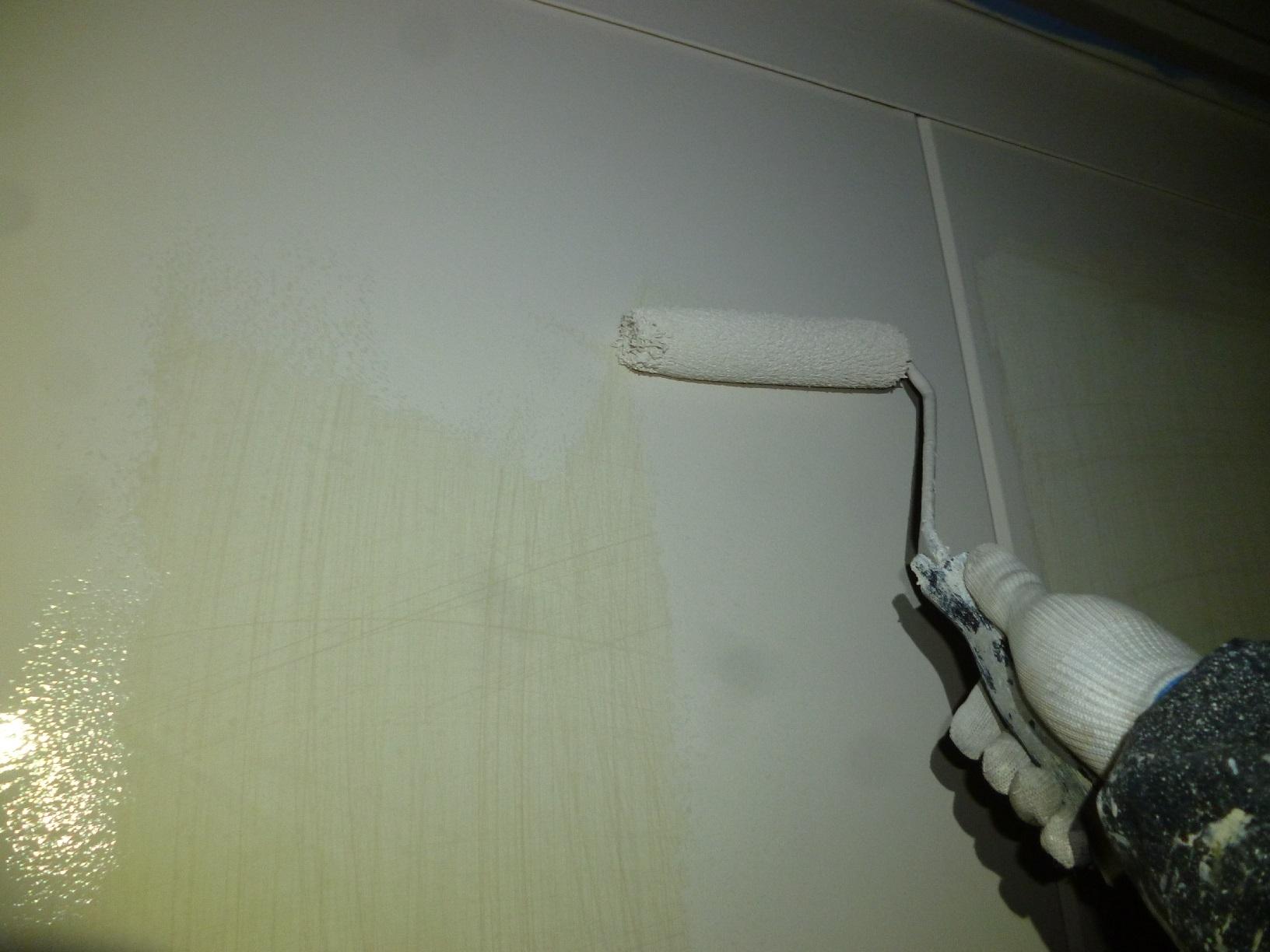 文苑N様邸 物置外壁 下塗3