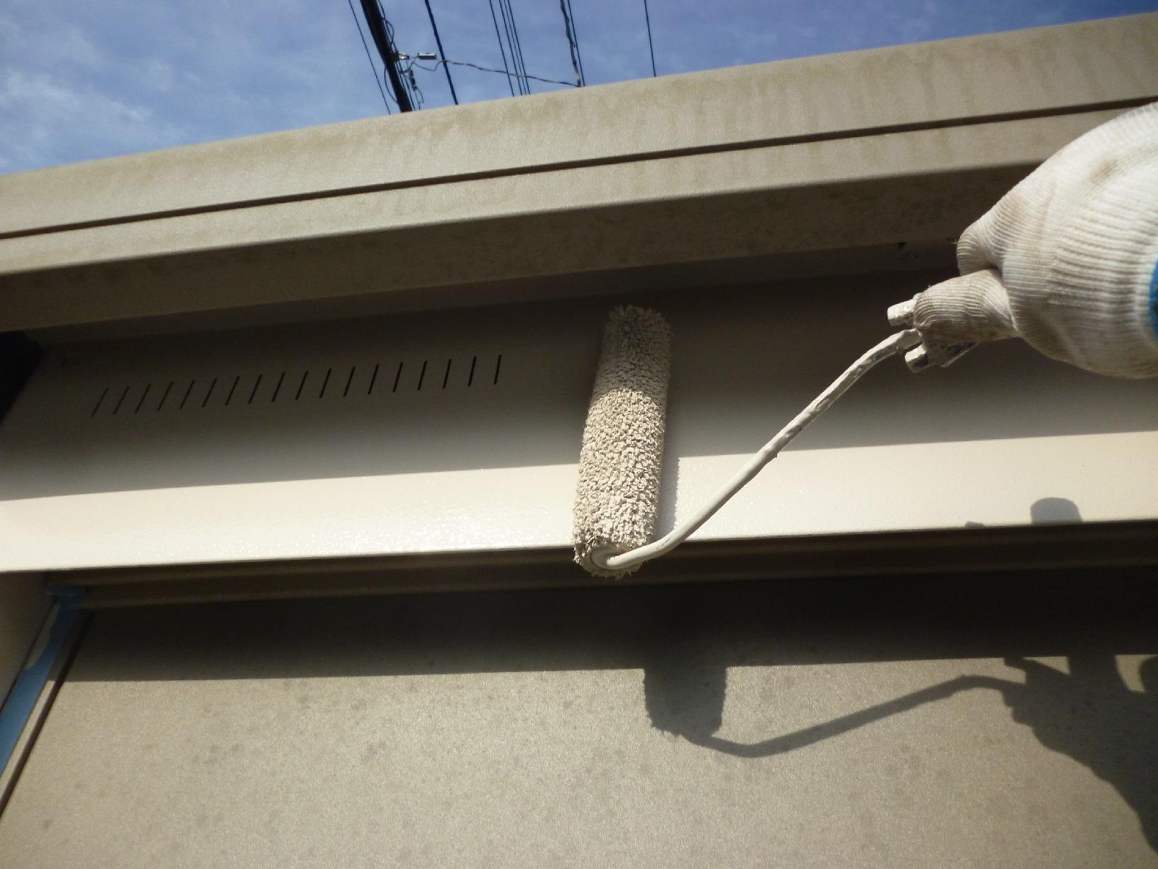 文苑N様邸 物置外壁 上塗2