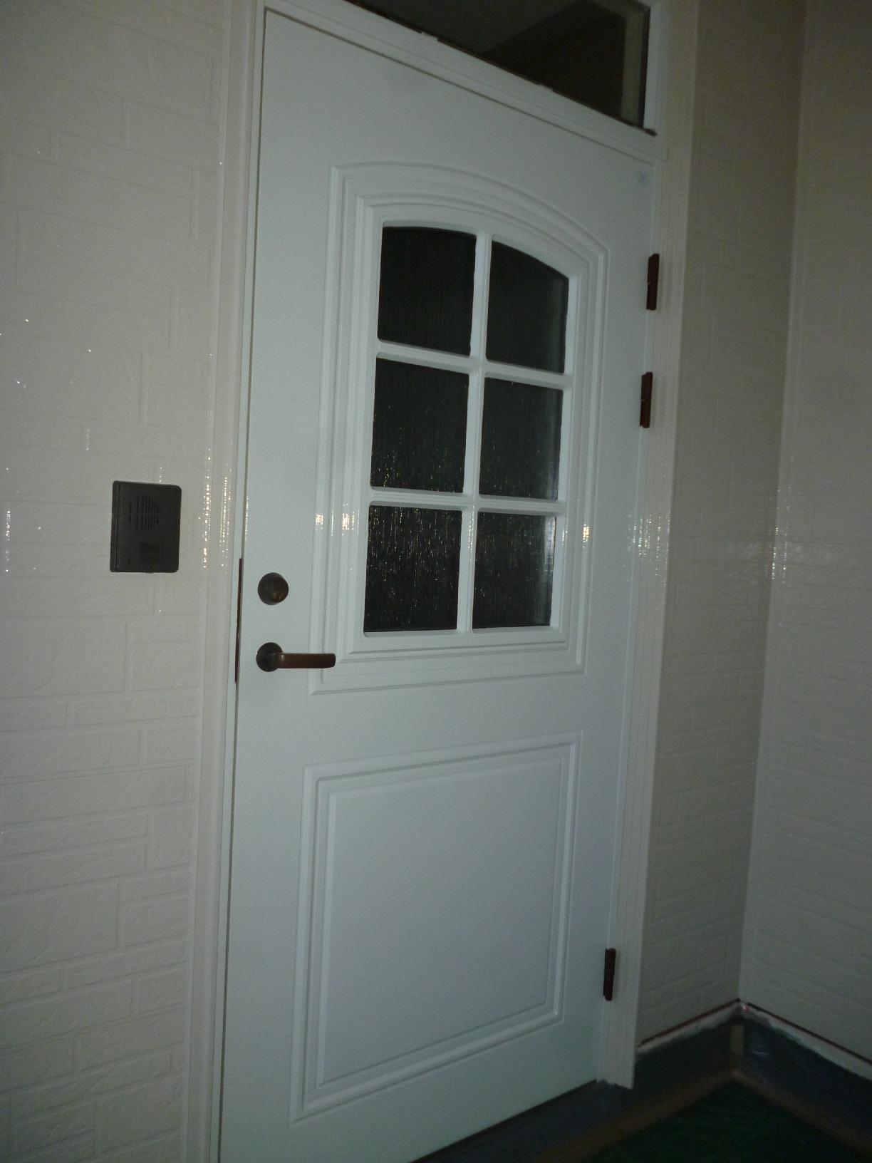 文苑N様邸 玄関ドア 上塗2