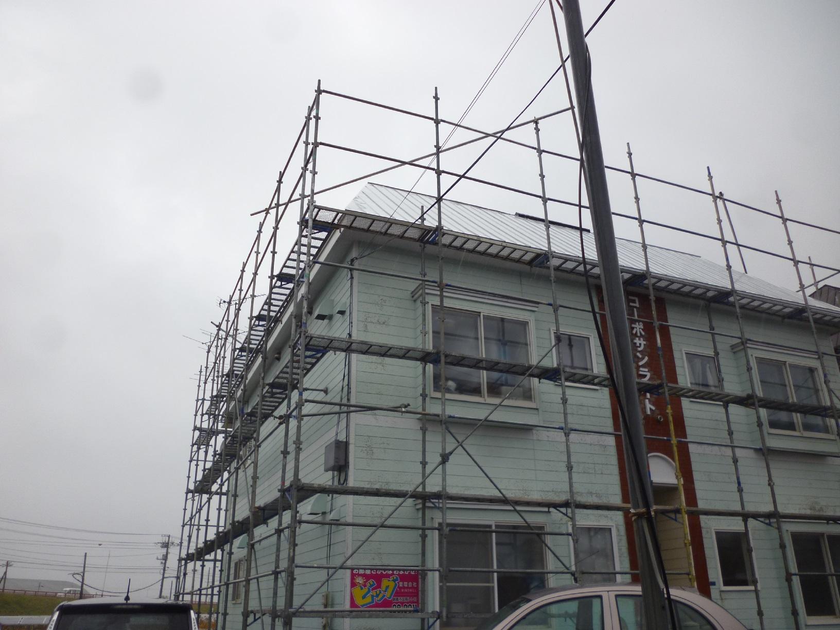 貝塚コーポサンライト 施工前外観2