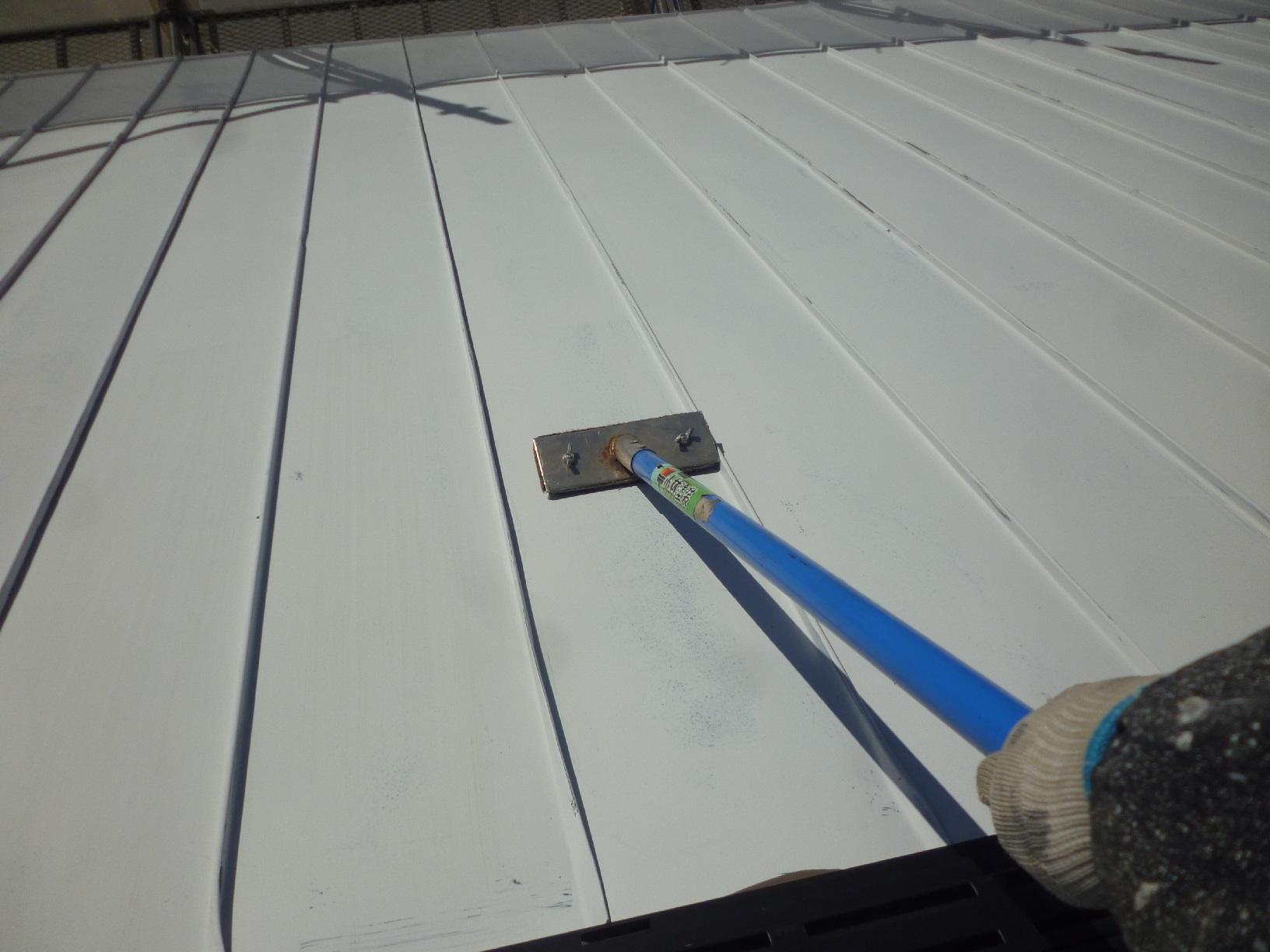 貝塚コーポサンライト 屋根 下処理2