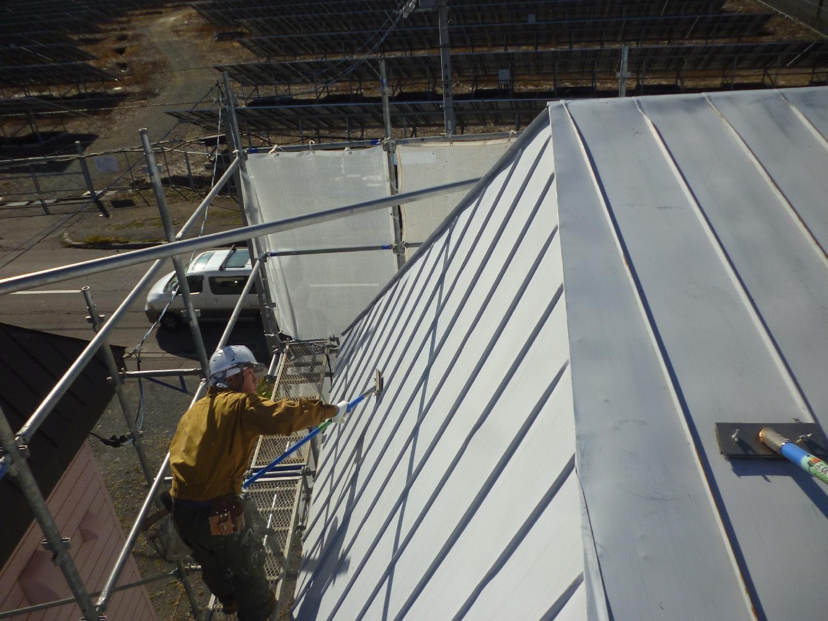 貝塚コーポサンライト 屋根 下処理4