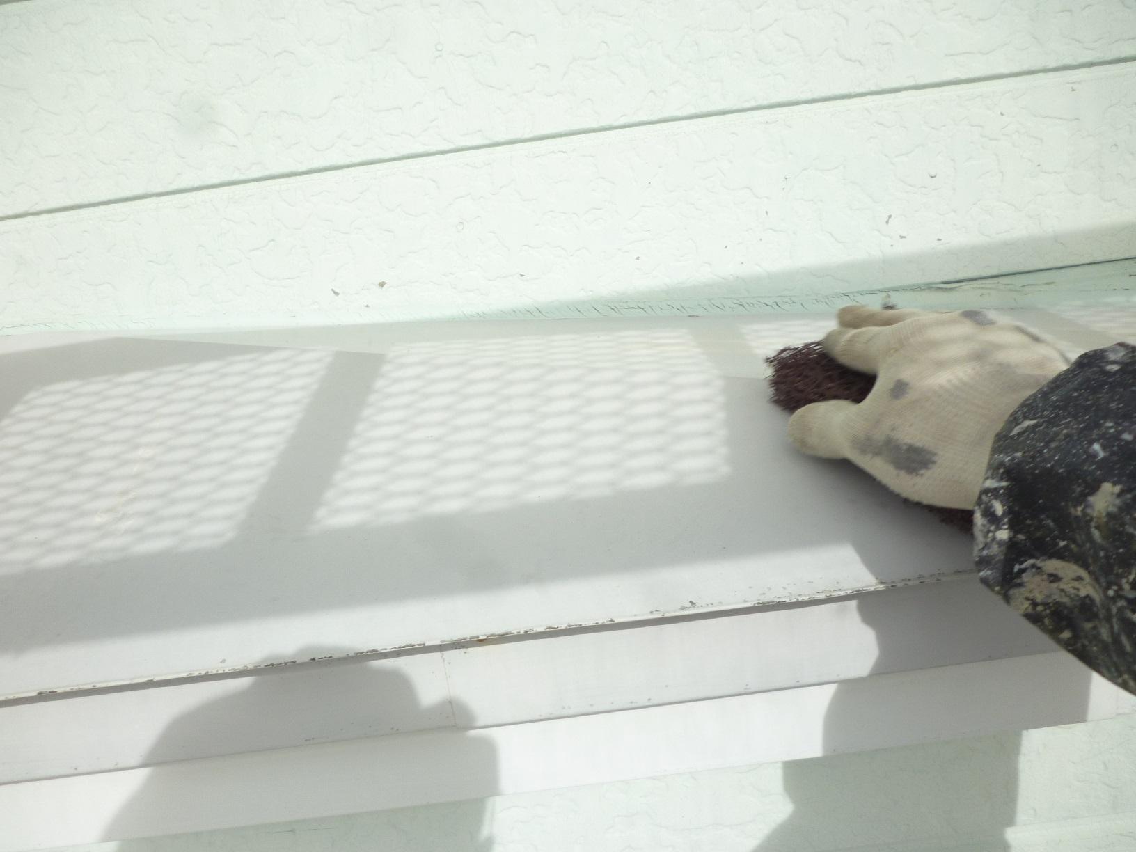 貝塚コーポサンライト 屋根 下処理5