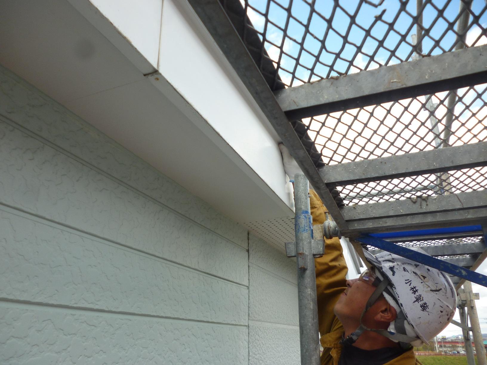 貝塚コーポサンライト 屋根 下処理6