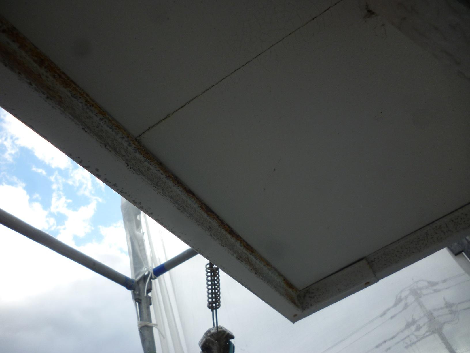 貝塚コーポサンライト 屋根 下処理7