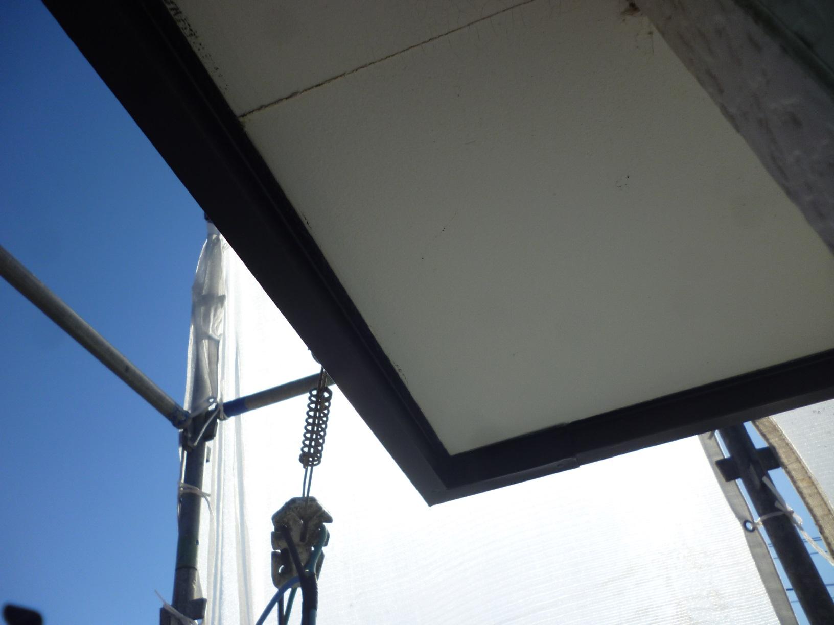 貝塚コーポサンライト 屋根 下塗9