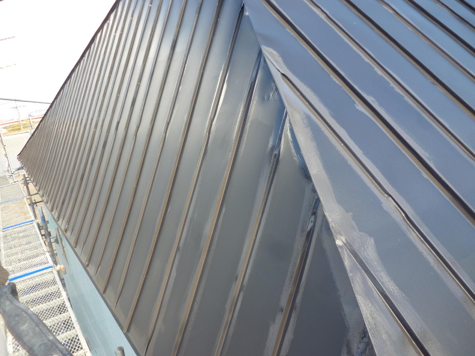 貝塚コーポサンライト 屋根 上塗3