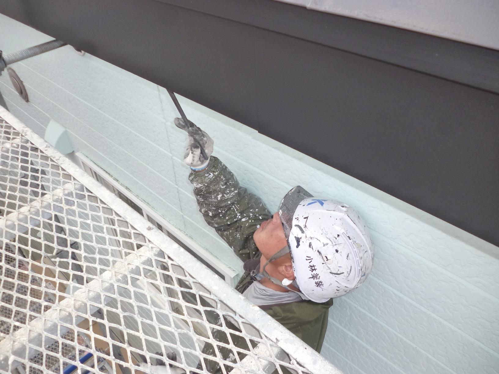 貝塚コーポサンライト 屋根 上塗7